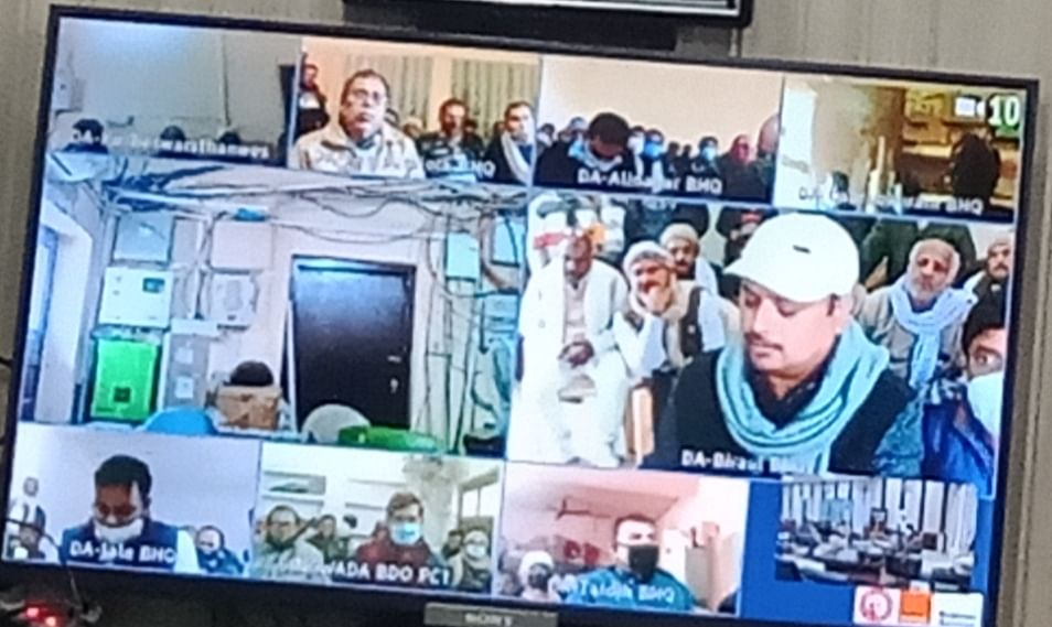 Online meeting on paddy procurement special campaign
