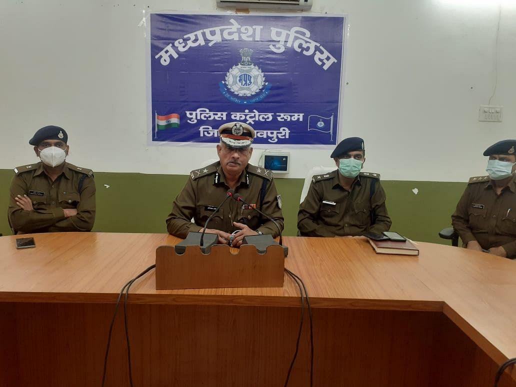 अपडेट: शिवपुरी पुलिस ने मुठभेड़ में पकड़ा 80 हजार का ईनामी डकैत
