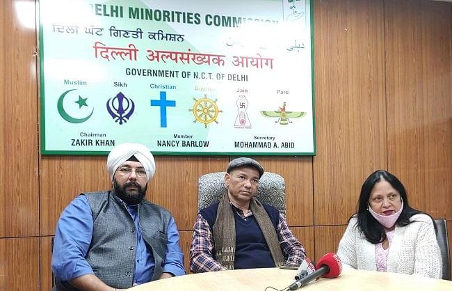 दिल्ली में अल्पसंख्यक समुदाय के लोग पूरी तरह से सुरक्षित: जाकिर खान