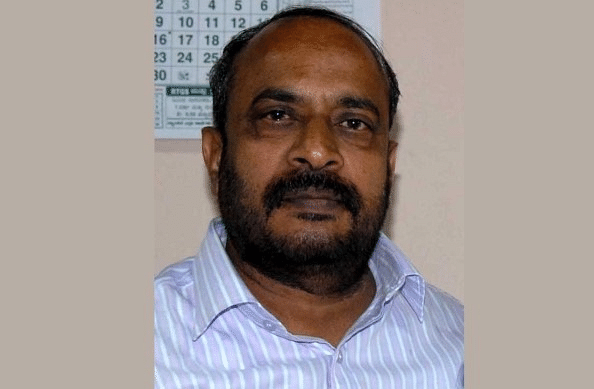 Dharmegowda, Deputy Chairman of the Karnataka Legislative Council, was found dead on the railway track