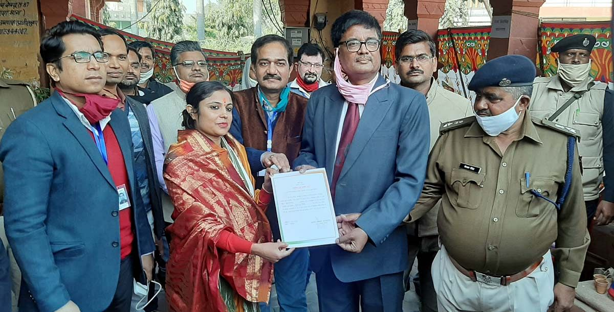 धौलपुर नगर परिषद चुनाव में कांग्रेस समर्थित खुशबू सिंह विजयी