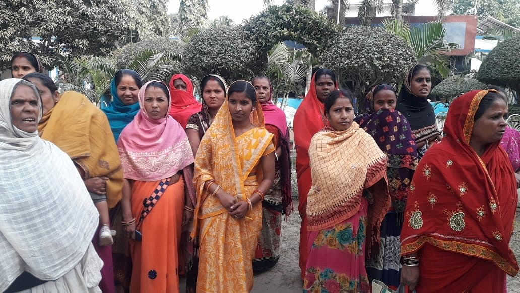 Candidates created furore over rigging in Anganwadi worker selection