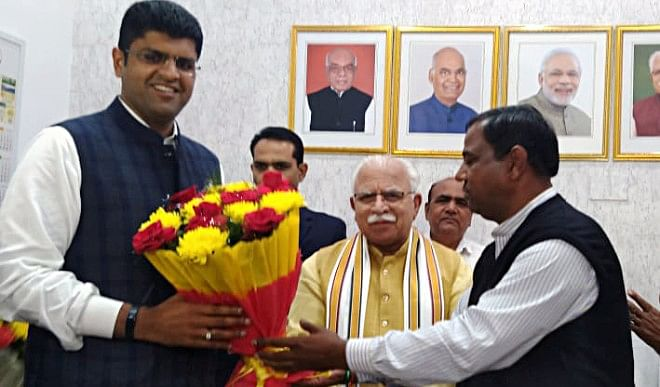 Reconciliation in BJP-JJP alliance after meeting Amit Shah, no threat to Haryana government