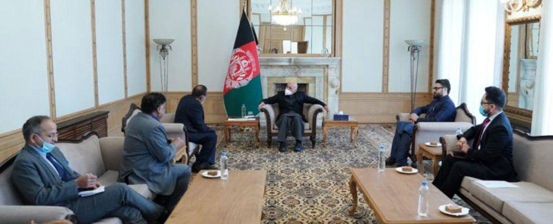 डोभाल पहुंचे अफगानिस्तान, शीर्ष नेतृत्व के साथ आतंक विरोधी और शांति प्रयासों पर की चर्चा