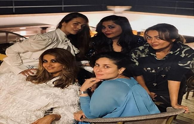 After a long time, Kareena Kapoor Khan had fun with Girl Gang, Karisma Kapoor did not appear