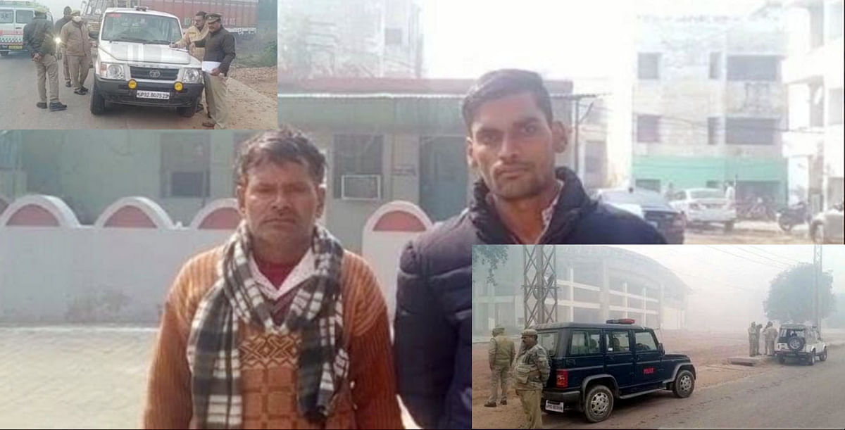Mathura: Armed miscreants looted Scorpio vehicle and cash after becoming RTO