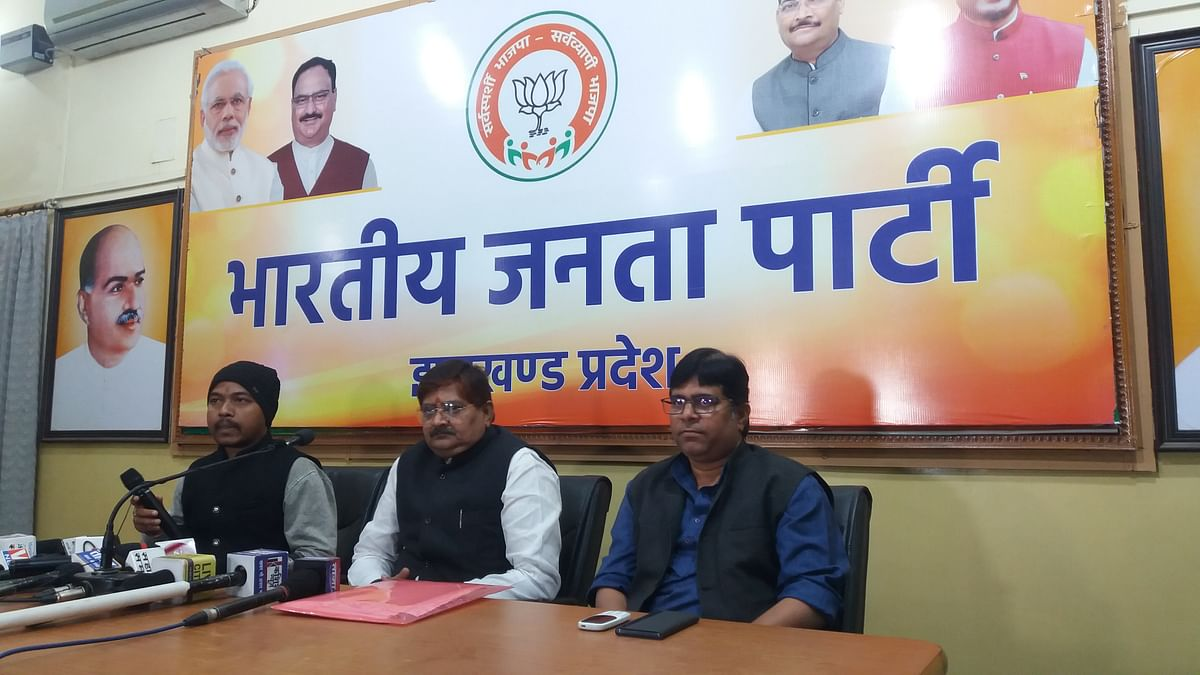 Hemant government involved in loot of water, forest and land: Raj Sinha