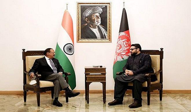 अजीत डोभाल ने अफगान नेतृत्व से की मुलाकात, आतंकवाद रोधी सहयोग से जुड़े कदमों पर की चर्चा