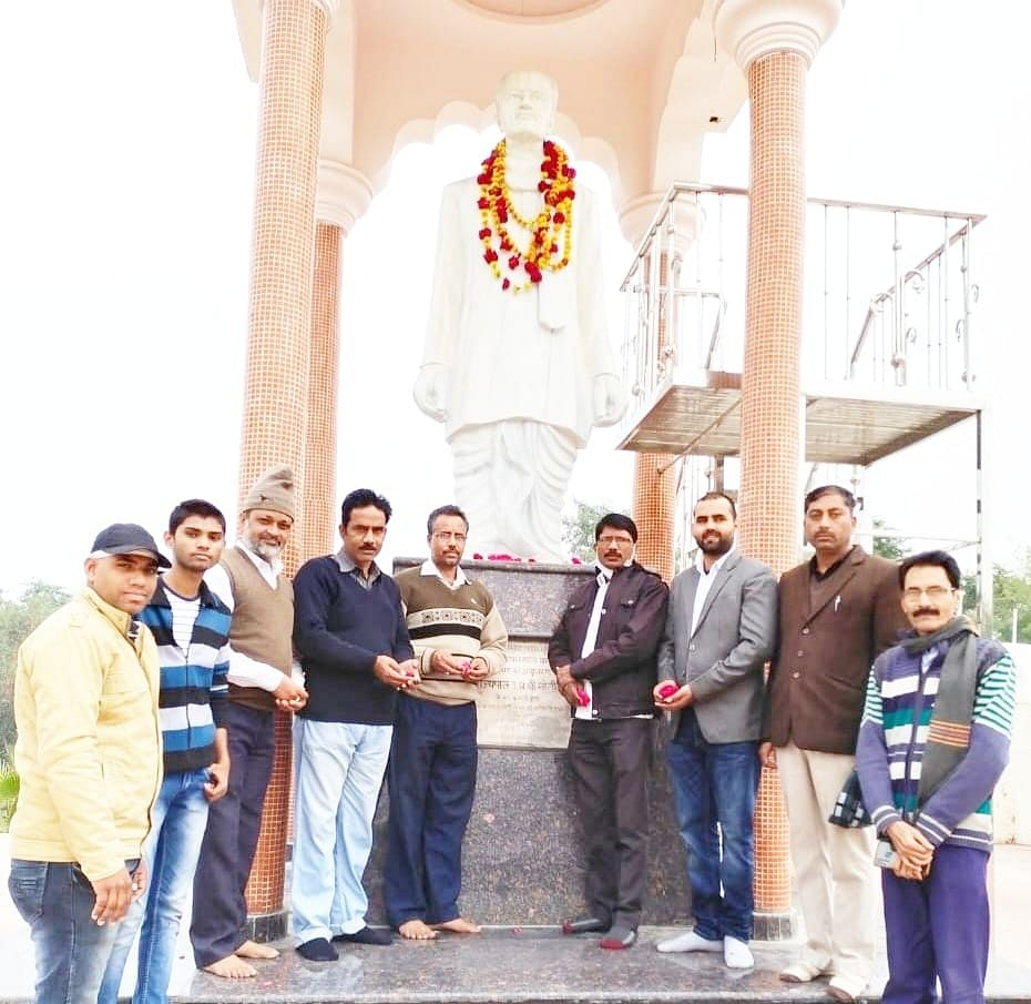 Congressmen celebrate the 132nd birth anniversary of Dr. Vrindavan Lal Verma