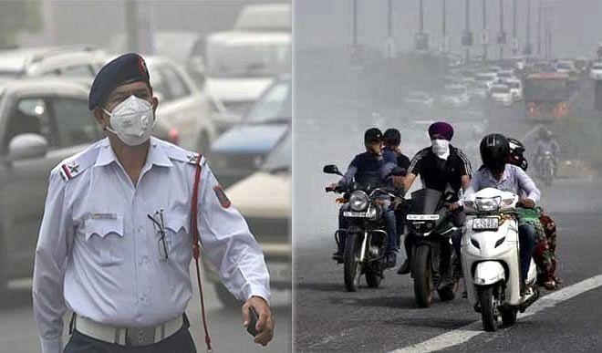 दमघोंटू प्रदूषण की चादर में लिपटी हुई है दिल्ली, मगर सरकारों को कोई फर्क नहीं पड़ता