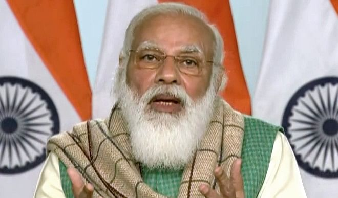PM Modi to launch Kovid-19 vaccination campaign on January 16, Co WIN app will also be launched