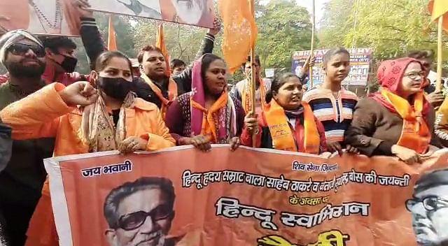 बाल ठाकरे की जयंती पर शिवसेना ने उठाई भारत रत्न की मांग