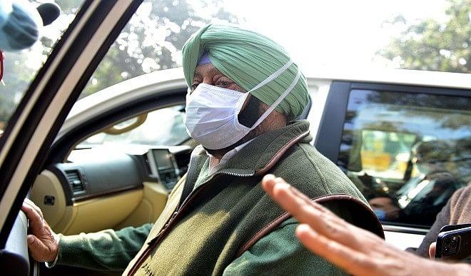 किसान आंदोलन को लेकर पंजाब CM अमरिंदर सिंह ने बुलाई सर्वदलीय बैठक