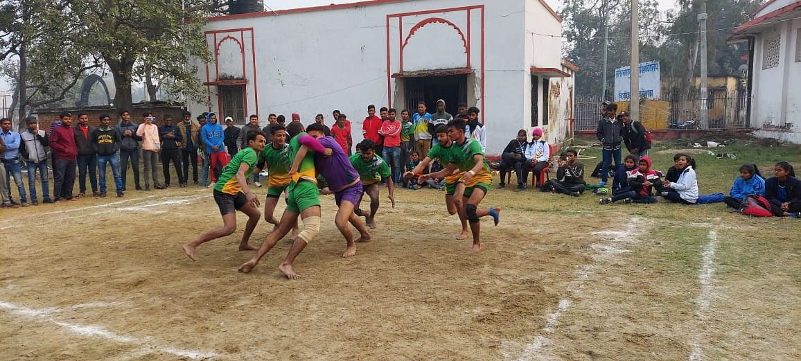 Selection competition organized for kabaddi players