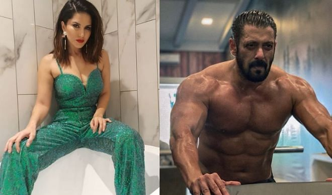 Sunny Leone sings song with Salman Khan, becomes victim of AWKWARD Moment