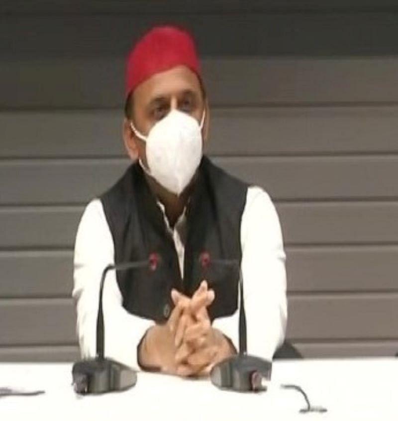 अखिलेश का योगी पर तंज, कहा-मुख्यमंत्री रामराज की कर रहे बात, अपराध खोल रहे खोखले दावों की पोल