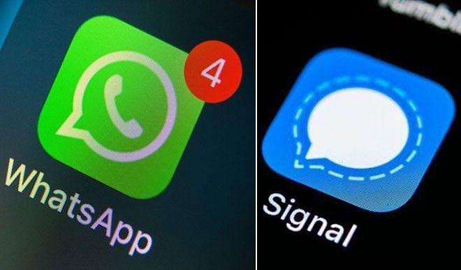 एप्स की सूची में पहले स्थान पर पहुंचा Signal एप ! डाउनलोड करने वालों की आई बाढ़