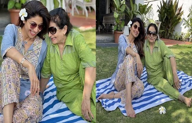 शिल्पा शेट्टी ने सासू मां के साथ शेयर किया खूबसूरत  वीडियो