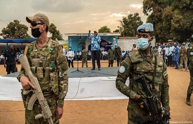 मध्य अफ्रीका गणराज्य में विद्रोहियों ने राजधानी पर किया हमला