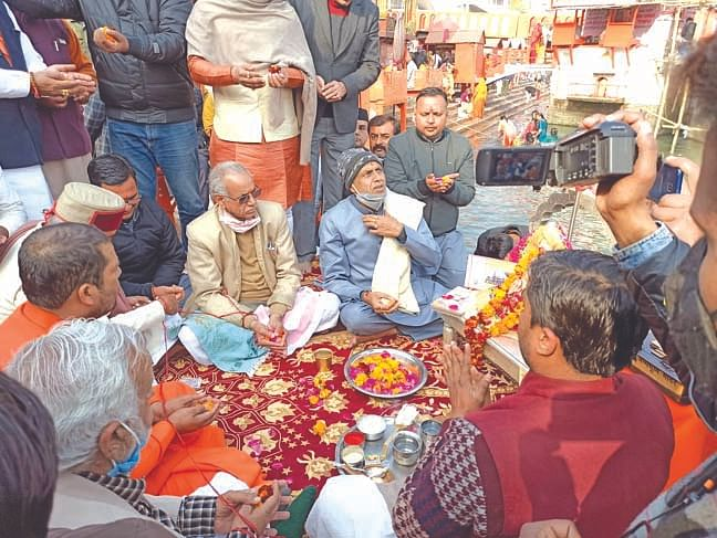 Shri Ram Janmabhoomi Surrender Fund Campaign started with Ganga Pujan in Haridwar