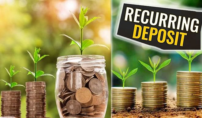 Prepare a lump sum amount from a recurring deposit, making the account operation very easy