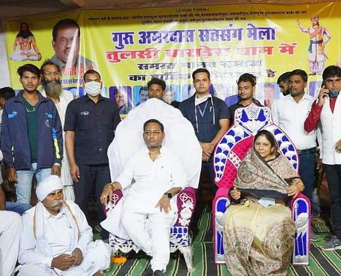 रायपुर : संत किसी समाज विशेष के नहीं बल्कि पूरे मानव समाज के लिए : मंत्री गुरू रूद्रकुमार