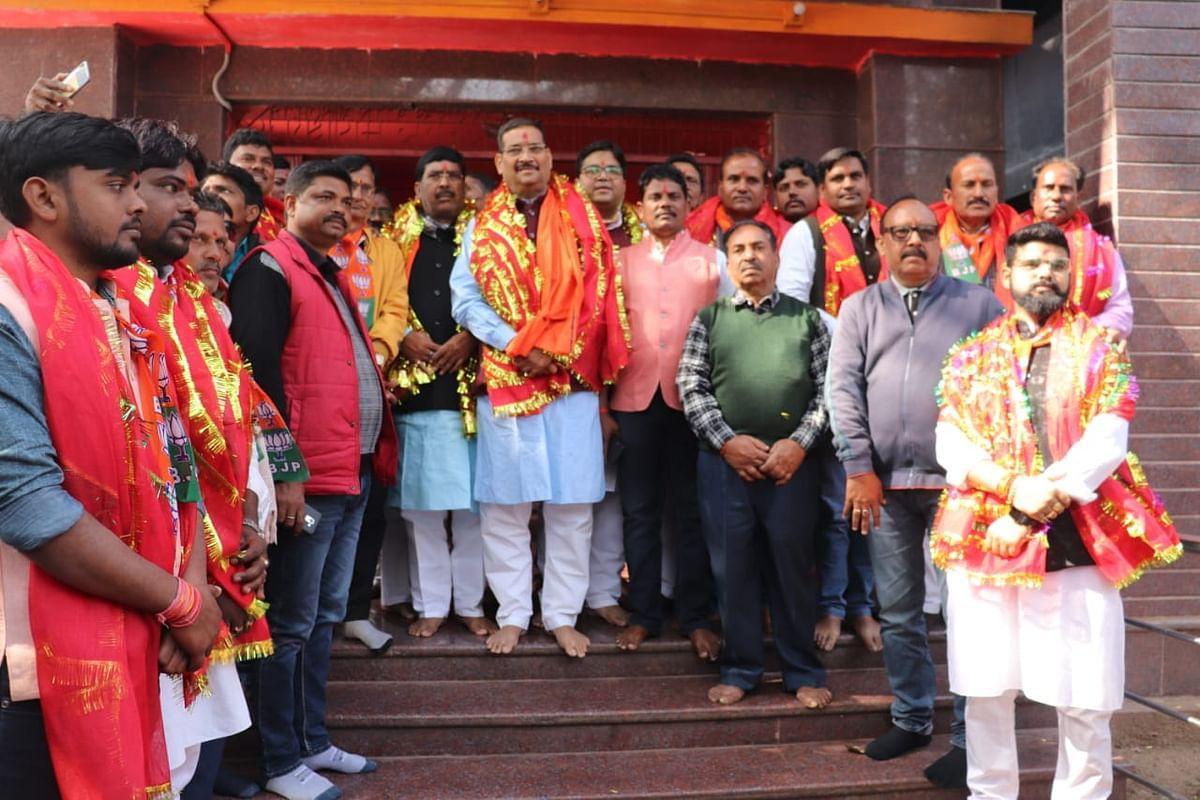 भाजपा की राजनीति सत्ता के लिए नहीं, बल्कि समाज के लिए : दीपक प्रकाश