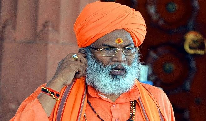 Sakshi Maharaj claims - Owaisi helped BJP in Bihar, now in Bengal and UP too