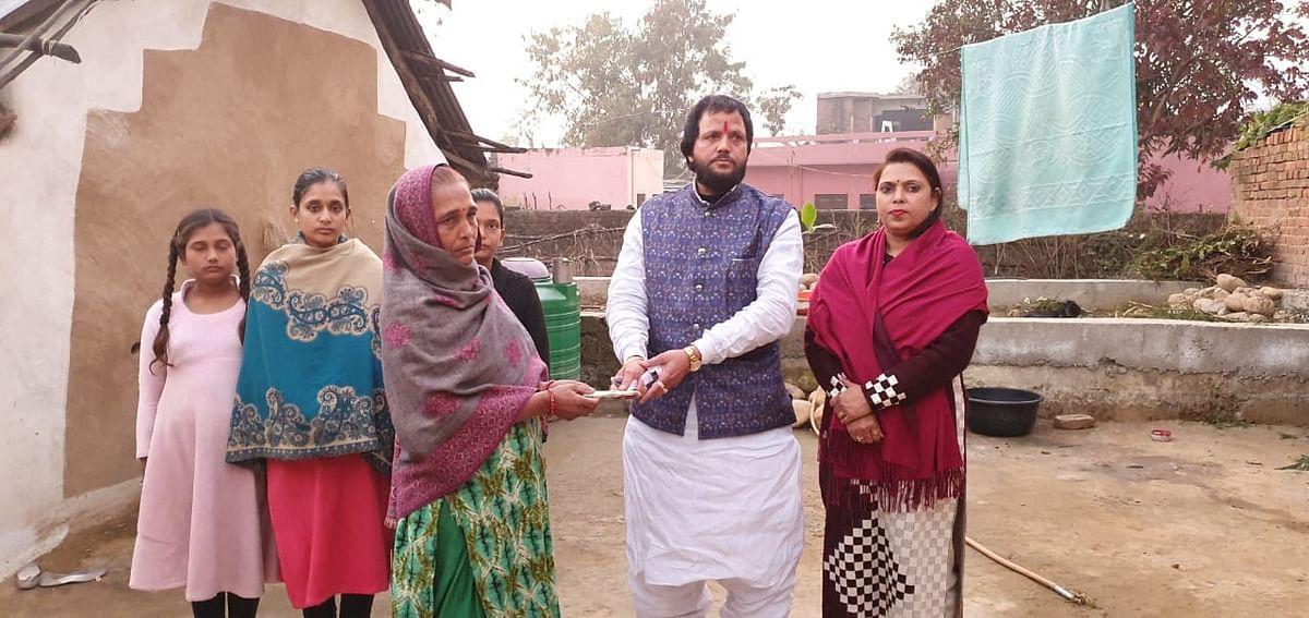 समाज सेवा और गरीबों की मदद करना ही उनका मुख्य लक्ष्य- समाजसेवी अरुण शर्मा