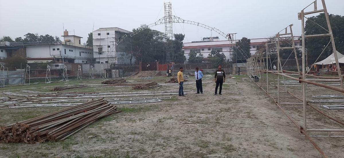 कुशीनगर में मोरारी बापू की रामकथा की तैयारी शुरू, मुख्यमंत्री कर सकते हैं उद्घाटन