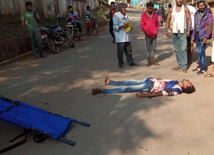 Dantewada: accused of murder by stabbing on minor dispute, arrested