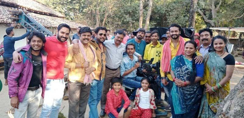 कांकेर : छत्तीसगढ़ी फिल्म 'डार्लिंग प्यार झुकता नहीं ' की शूटिंग भानुप्रतापपुर में जारी