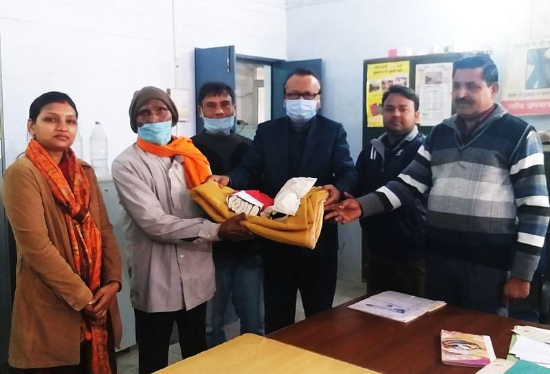 स्पर्श कुष्ठ जागरूकता अभियान का आगाज, 8 कुष्ठ रोगी सम्मानित