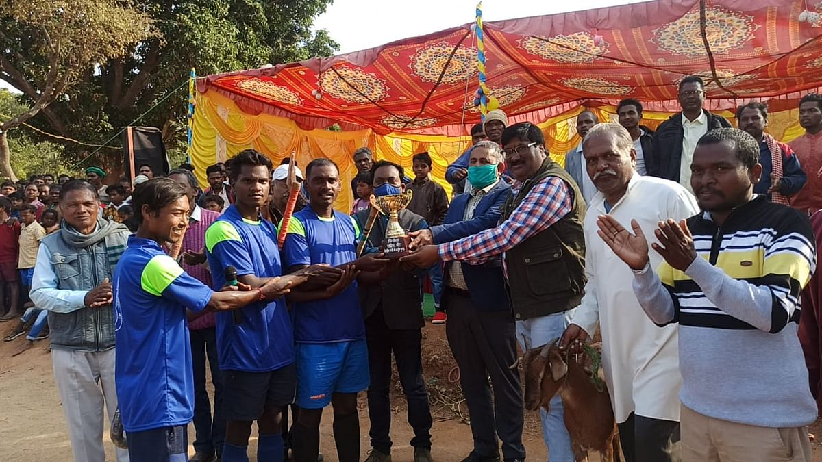 चार दिवसीय हाॅकी टूर्नामेंट का समापन, गोवा की टीम ने जमाया खिताब पर कब्जा