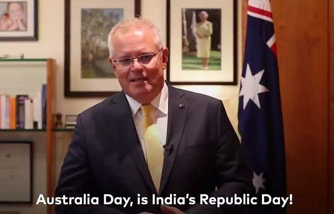 भारत को सच्चा मित्र बताते हुए ऑस्ट्रेलिया के प्रधानमंत्री ने दी गणतंत्र दिवस की शुभकामनाएं