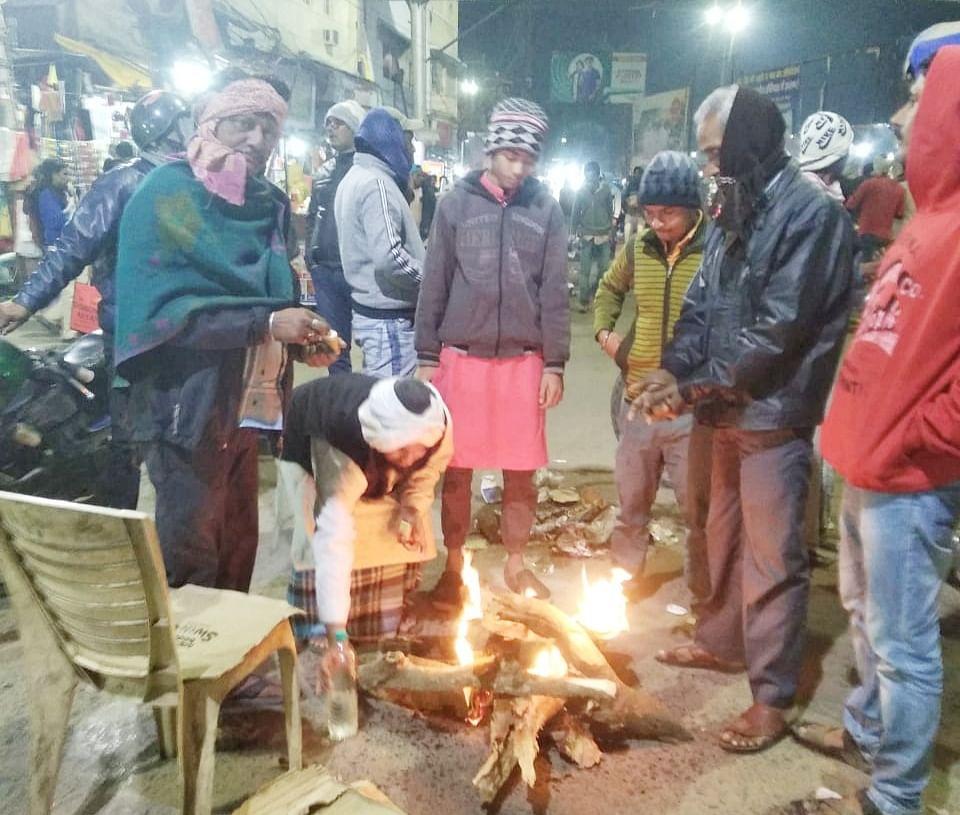 Khanqah-e-Pir Damadiya Shah again arranges for bonfires, Allah is happy with the service of humanity: Syed Hasan