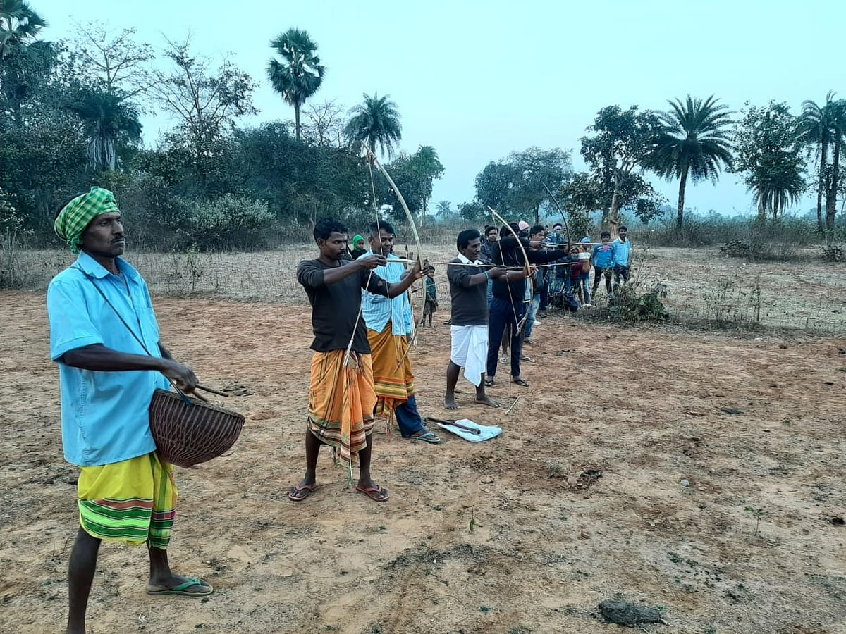 A glimpse of tribal culture seen in the festival