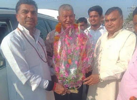 Welcomed devendra yadav
