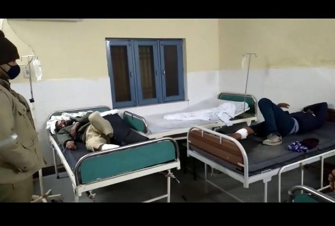 Four miscreants injured in police encounter in Aligarh, hospitalized