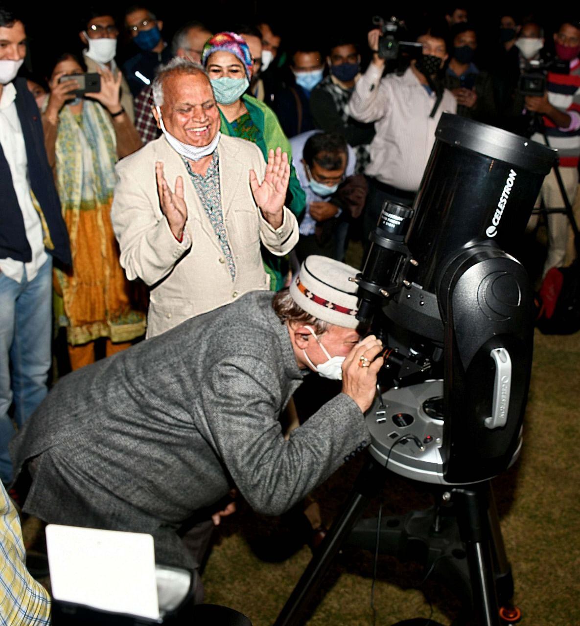 नाइट स्काई टूरिज्म की जयपुर में हुई शुरूआत, टेलीस्कोप से निशुल्क देख सकेंगे आकाशीय नजारे