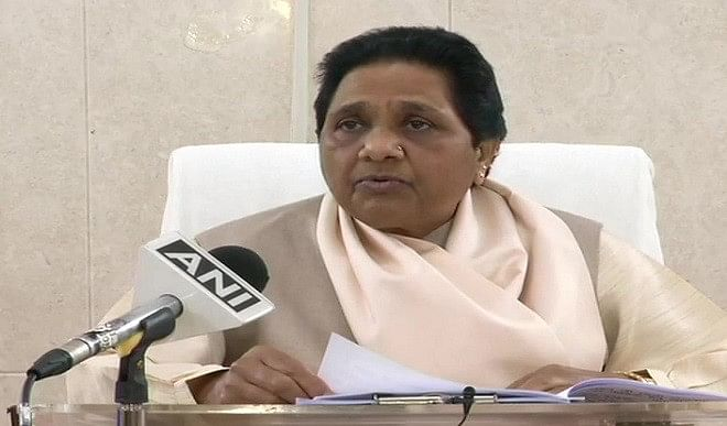 Mayawati declares, BSP will fight alone in upcoming assembly elections