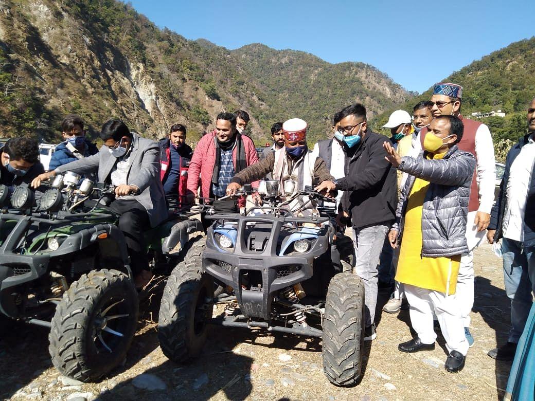 अल्मोड़ा में पांच दिवसीय मार्चुला एडवेंचर मीट का आगाज