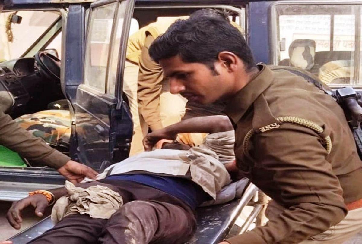 मुठभेड़ में दस्यु गोप्पा गैंग का हार्डकोर मेम्बर झल्लर अवैध असलहे सहित गिरफ्तार