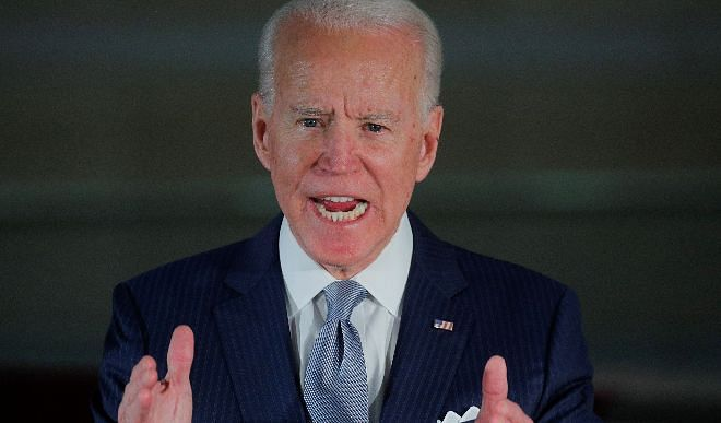 "Joe Biden called ""domestic terrorist"" those who entered the US Parliament House"