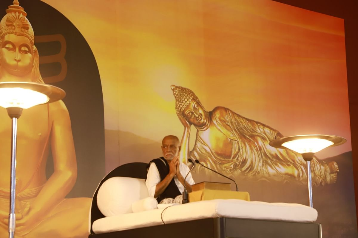 महामंत्र है राम नाम, इसका कोई तोड़ नहीं :  मोरारी बापू