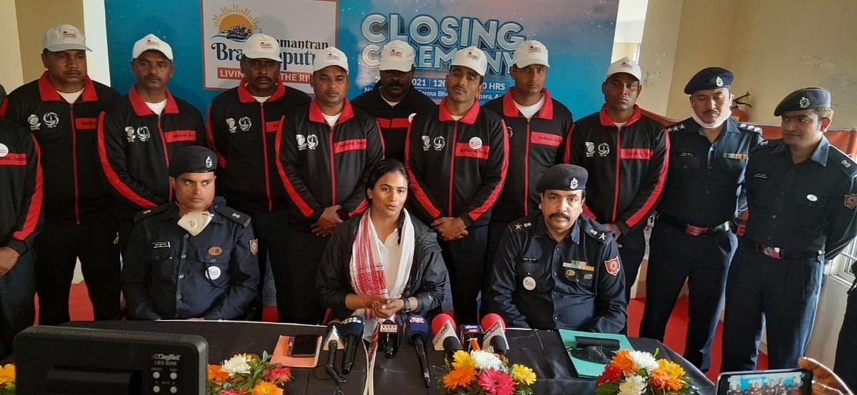 'ब्रह्मपुत्र आमंत्रण अभियान' का भारत-बांग्लादेश सीमा पर सफल समापन