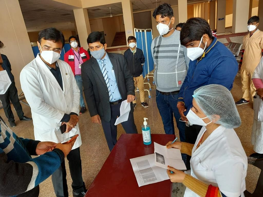 Dry trial of Corona vaccine in six medical institutes of the capital