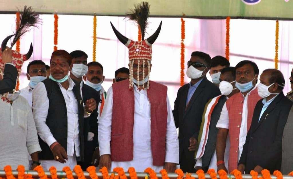 नारायणपुर : बस्तर की प्राचीन संस्कृति और परम्परा के संरक्षण व संवर्धन के लिए सरकार कृतसंकल्पित - मुख्यमंत्री