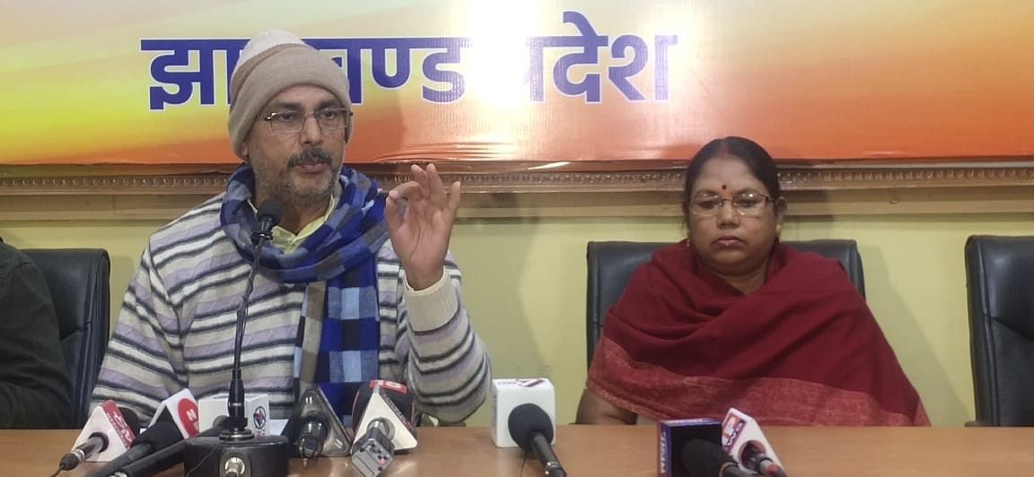 hemant-government-put-the-bjp-government39s-development-plans-in-abeyance-anant-ojha