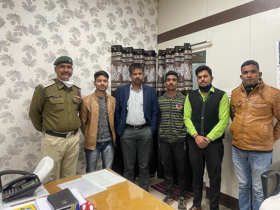 नेशनल एडवेंचर फेडरेशन ऑफ इंडिया के राष्ट्रीय शिविर के लिए जिले के दो छात्र चयनित